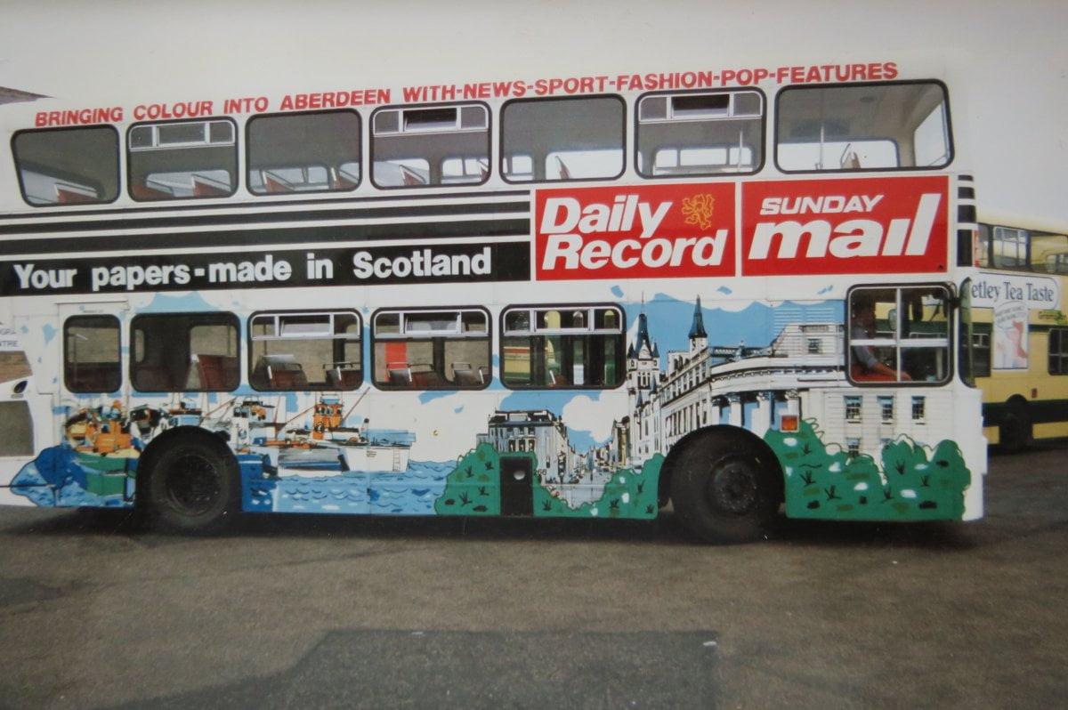 Hand lettering in Aberdeen