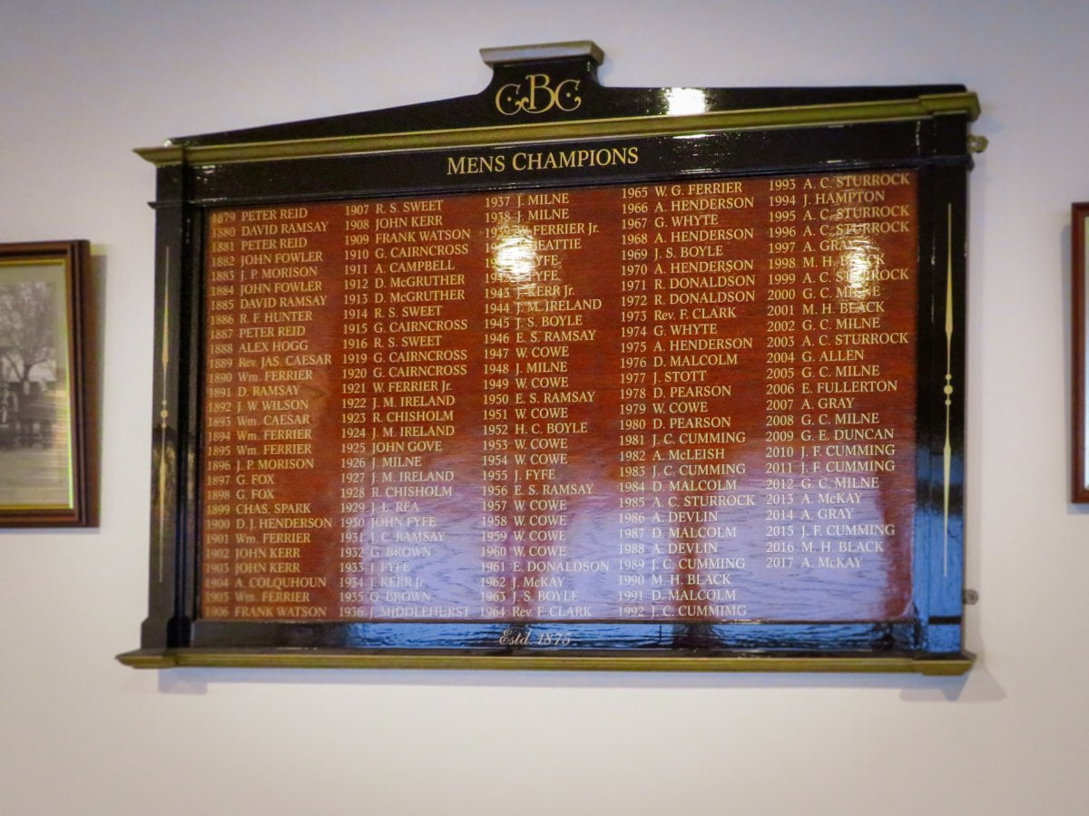 Honours board manufacturer in Dundee