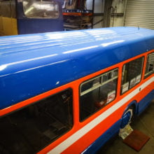 Bus painting Dundee