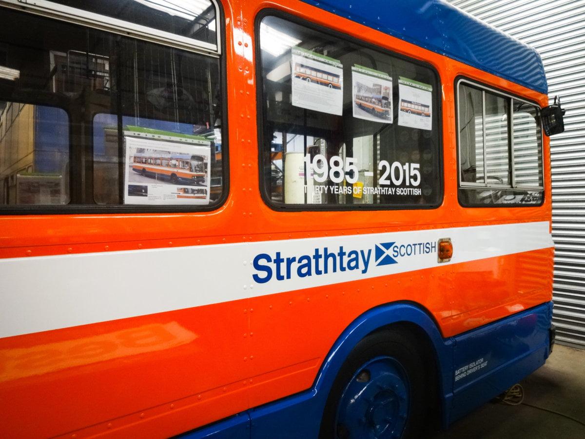 Bus painting Scotland
