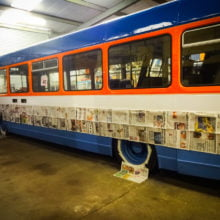 Bus painting restoration