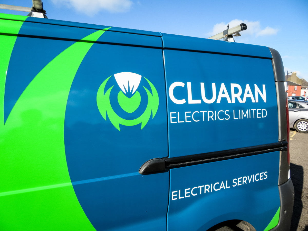 Van graphics designer in Dundee