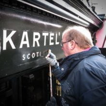 Shop signwriter in St Andrews