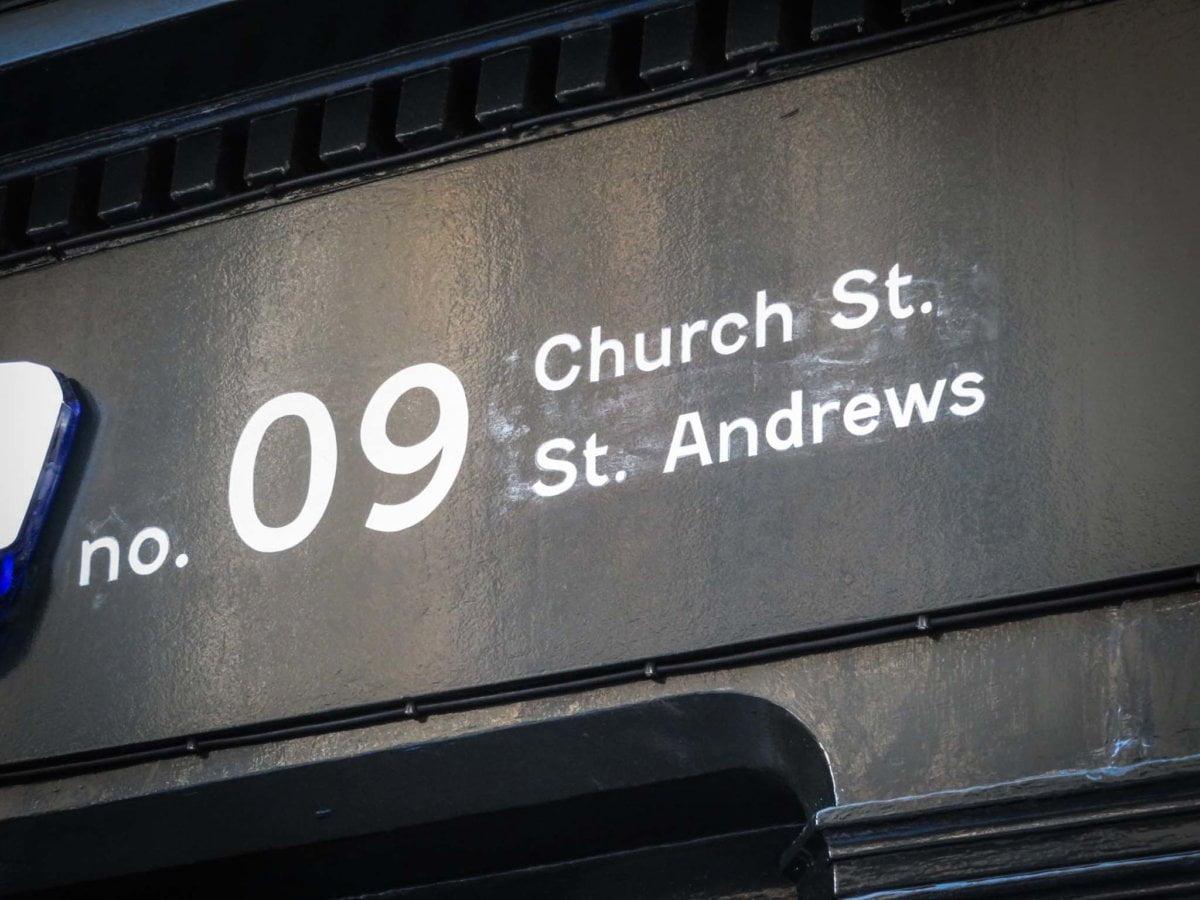 St Andrews Signwriter