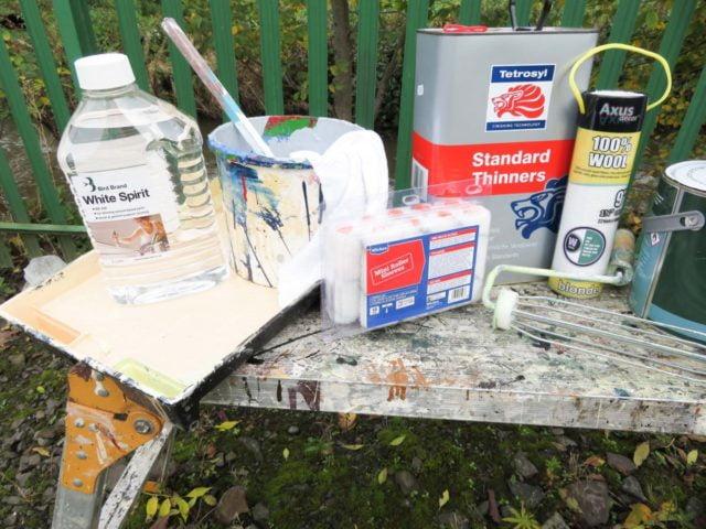 Brush painting tools
