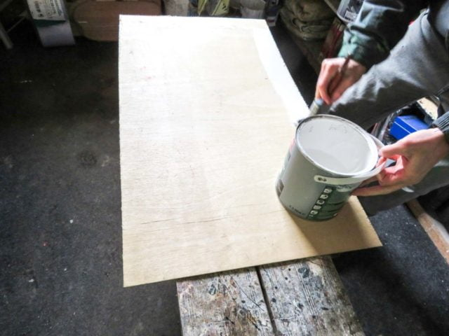 How to paint a panel