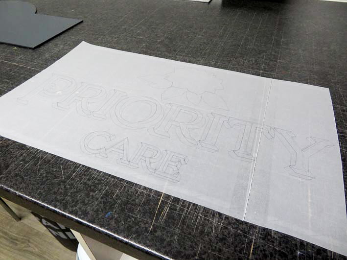 Tracing Paper Pattern
