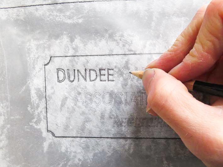 Dundee sign design