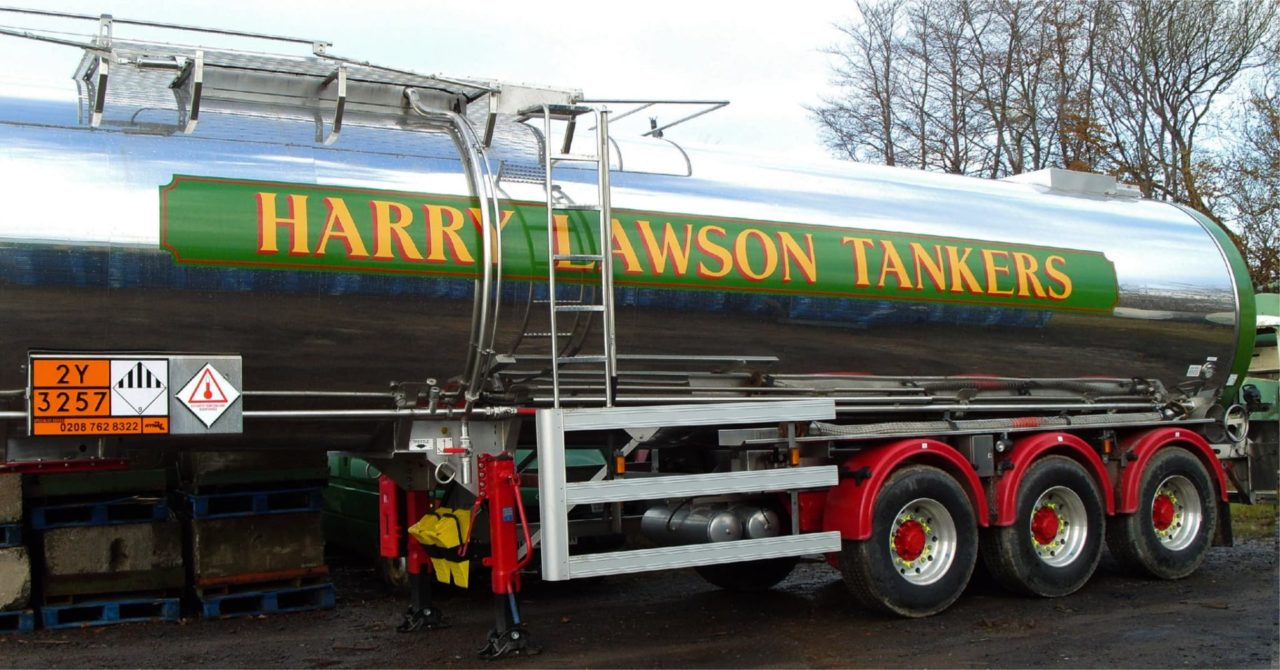 Tanker graphics in Dundee