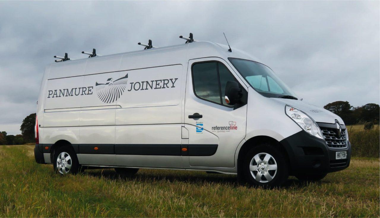 Van graphics in Dundee