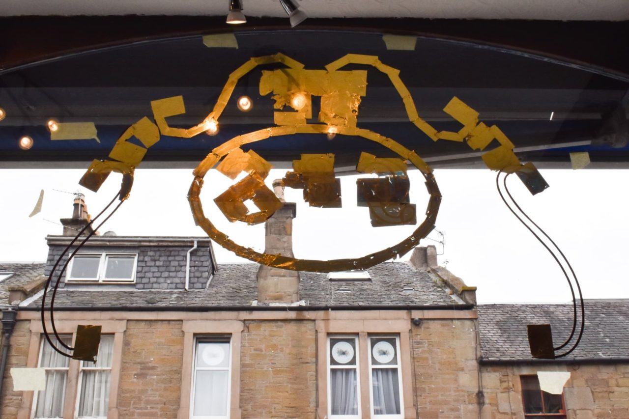 Gold leaf gilding Broughty Ferry