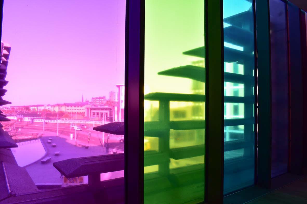 Coloured window film Dundee