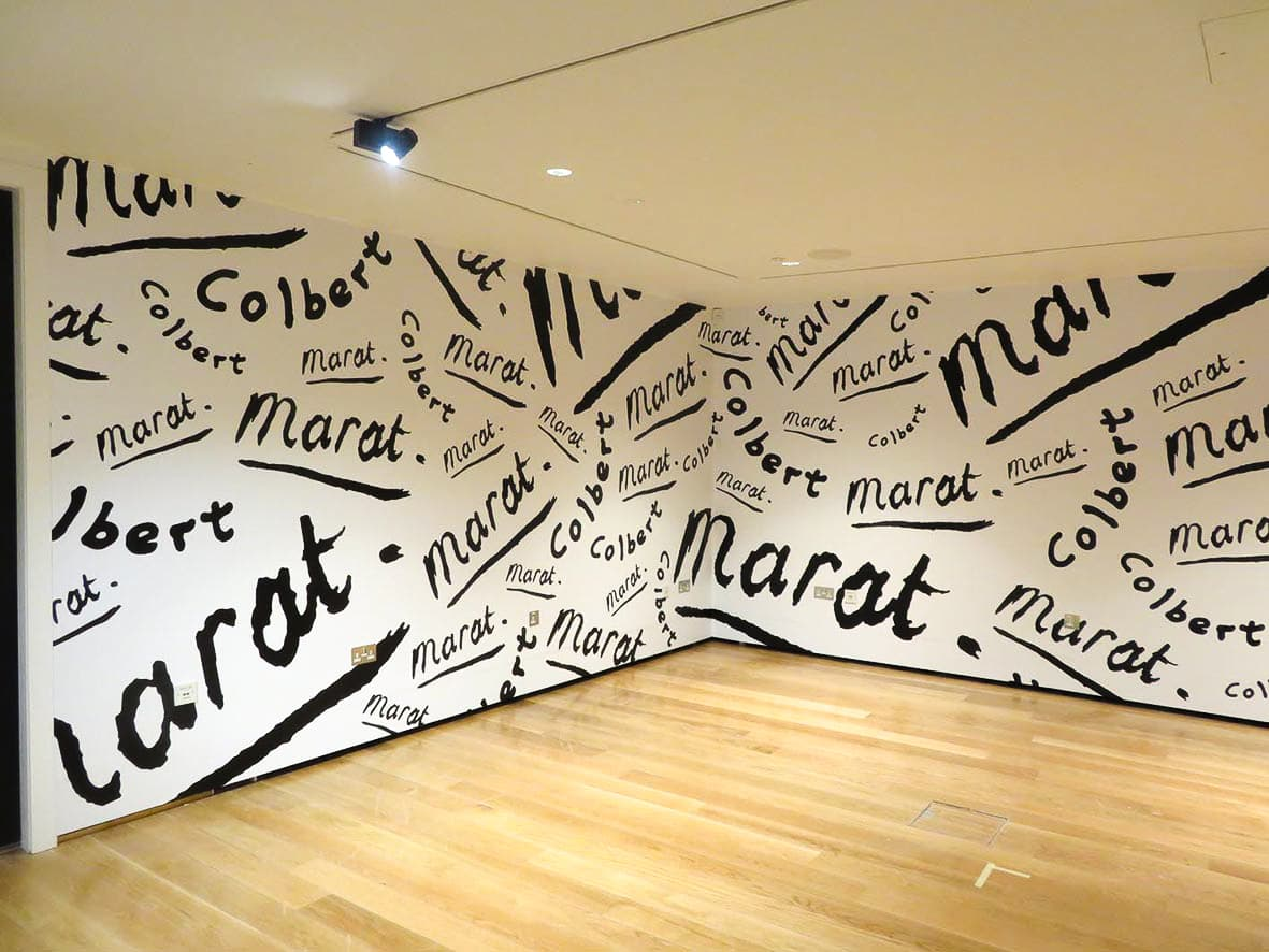 Wall graphics St Andrews